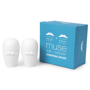 Salt & Pepper Shakers - Mr. & Mr. Muse Salt & Pepper Shakers