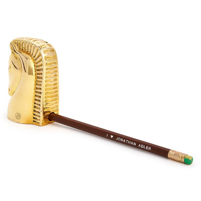 Brass Objets - Brass Horse Pencil Sharpener