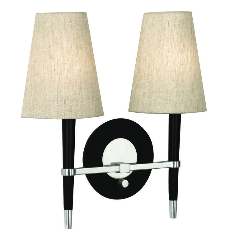 Wall Lamps & Sconces - Ventana Half-Shade Sconce