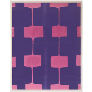 Abstract - Paule Marrot Fuchsia