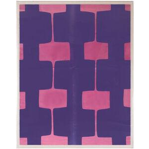 Abstract - Paule Marrot Fuchsia