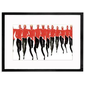 "Print - Tony Viramontes ""Red Halston"""