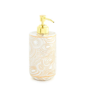 Bath Accessories - Malachite Soap Dispenser