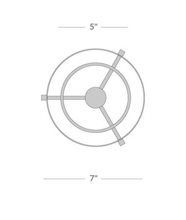 Parker Table Torchière Isometric 2