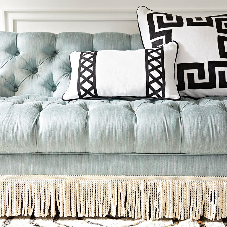 Jonathan Adler | Baxter T-Arm Sofa with Bullion Fringe 3