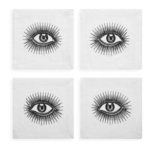 Table Linens - Eyes Linen Napkin Set