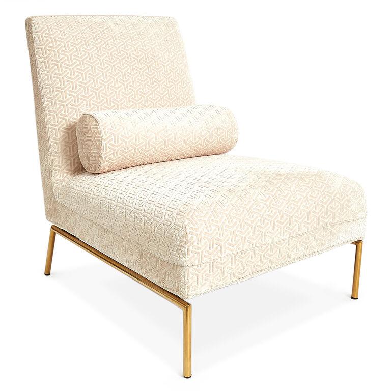 Astor slipper chair modern holding category for for Slipper chair