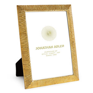 Picture Frames - Textured Brass Frame