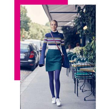 Collant ultra violet opaque velouté Style 50D-DIM