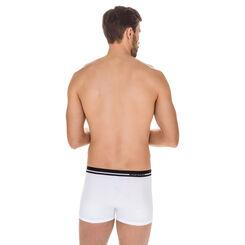 Boxer Australien blanc en coton stretch-DIM