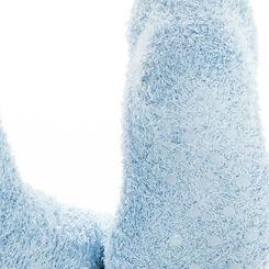 Chaussettes bleues avec broderie Père Noël pour Enfant-DIM