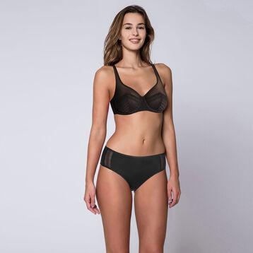 Soutien-gorge noir avec armatures Generous Féminine-DIM