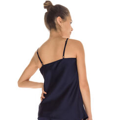 Débardeur de pyjama bleu marine Femme-DIM