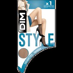 Socquettes résille blanches Style-DIM