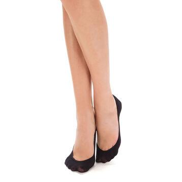 Protège-pied noir spécial ballerine en silicone-DIM