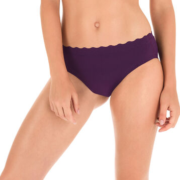 Slip violet profond Beauty Lift invisibilité totale-DIM
