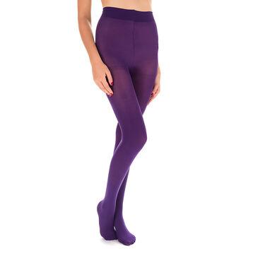 Collant ultra violet opaque velouté Style 40D-DIM