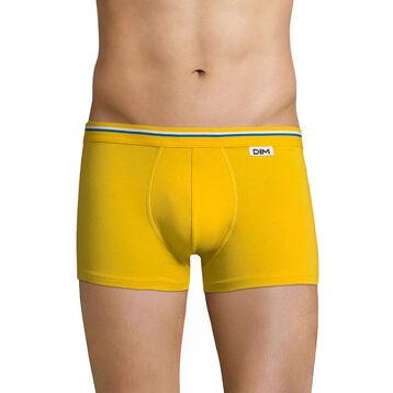 Boxer jaune sable ceinture jaune sable DIM Colors -DIM