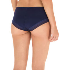 Shorty bleu minuit seconde peau Invisi Fit-DIM