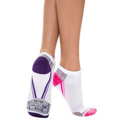 Lot de 2 paires de socquettes invisibles X-Temp Sport Femme-DIM
