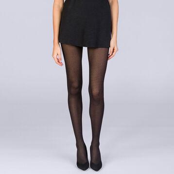 Collant points noirs 20D Femme Les Fantaisies-DIM