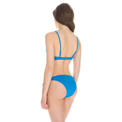 Bas de maillot de bain culotte à nouer turquoise Femme-DIM