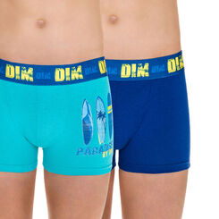 Lot de 2 boxers luciole California DIM Boy-DIM