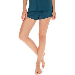 Short de pyjama vert bleu Femme-DIM
