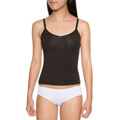 Caraco noir coton stretch - DIM Girl-DIM