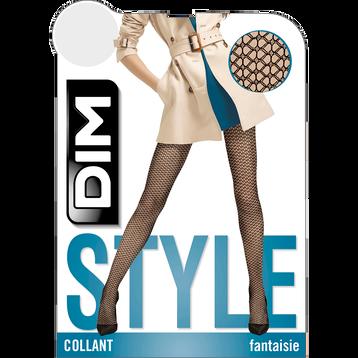 Collant noir résille brise soleil Style-DIM