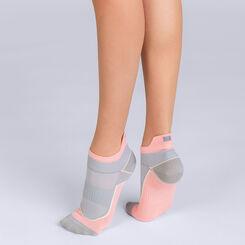Socquettes courtes impact fort roses Femme DIM Sport-DIM