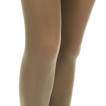 Collant kaki opaque velouté Style 50D-DIM