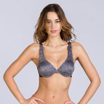 Soutien-gorge foulard imprimé léopard Beauty Lift -DIM