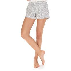 Short de pyjama nacre imprimé tacheté Femme-DIM