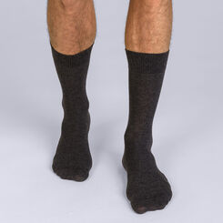 Chaussettes X-Temp anthracite Homme-DIM