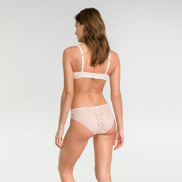 Soutien-gorge à armatures rose ballerine Sublim Dentelle-DIM