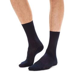 Lot de 2 paires de chaussettes noires Fil d'Ecosse Homme-DIM