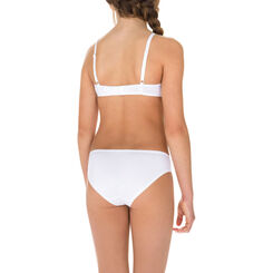 Soutien-gorge triangle blanc brillant Shines DIM Girl-DIM