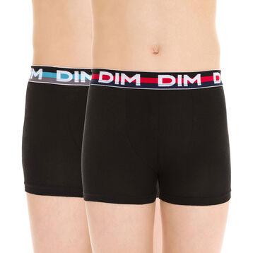 Lot de 2 boxers noirs EcoDIM - DIM Boy-DIM
