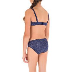 Soutien-gorge triangle bleu marine DIM Girl-DIM