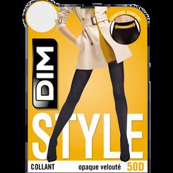 Collant marron chaud opaque velouté Style 50D-DIM