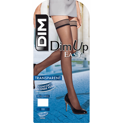 Bas up transparent couleur capri DIM UP EASY 15D-DIM
