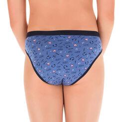 Lot de 4 (3+1 gratuite) culottes bleu jean DIM Girl-DIM