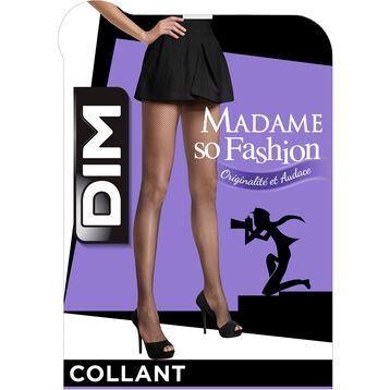 Collant résille daim Style-DIM