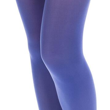 Collant bleu azurite opaque velouté Style 50D-DIM