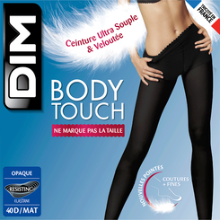 Collant gris Body Touch Opaque 40D-DIM