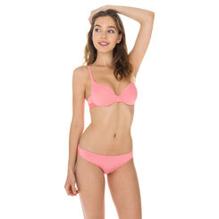 Slip rose corail seconde peau Invisi Fit-DIM