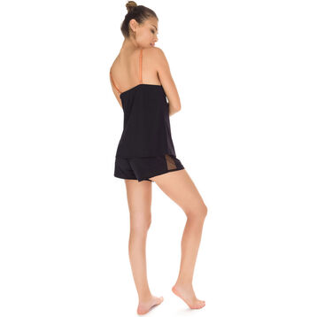 Débardeur de pyjama noir Femme-DIM