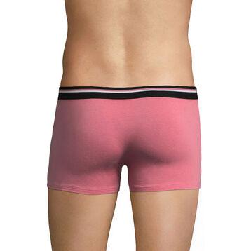 Boxer rose foncé ceinture noire DIM Colors -DIM