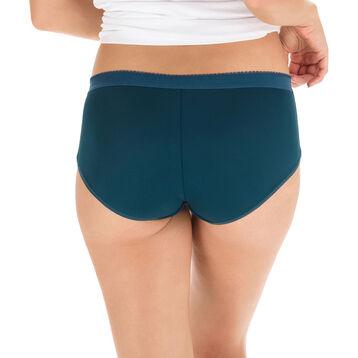 Lot de 2 boxers vert et bleu Les Pockets Microfibre-DIM